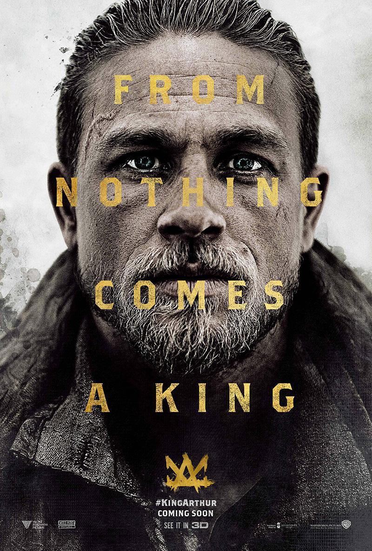 Nuevo teaser y póster de 'Rey Arturo: La leyenda de Excalibur'