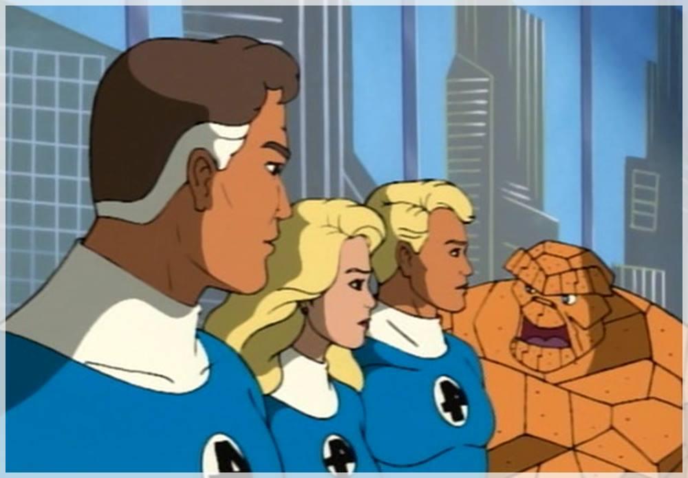 los 4 fantasticos serie de dibujos animados