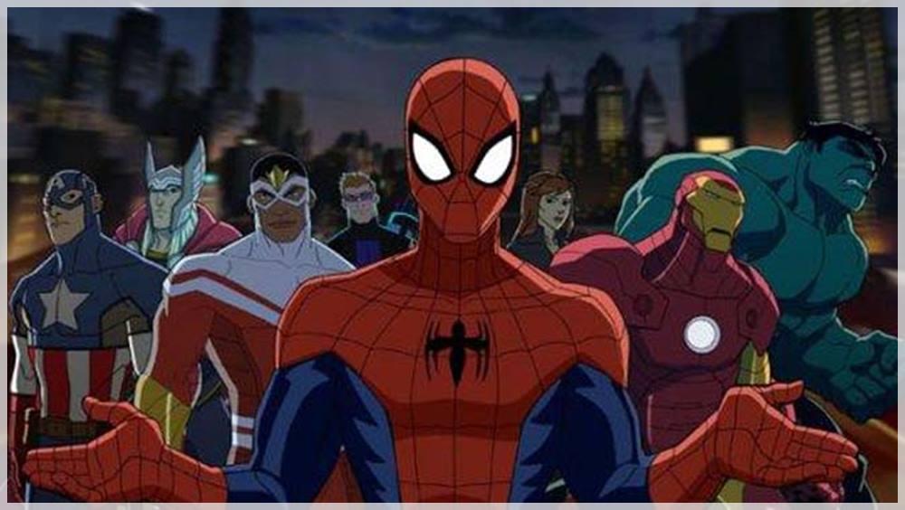 Los vengadores series de Marvel animadas