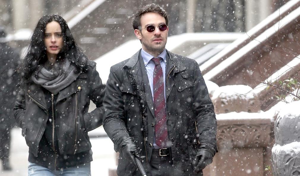 'Los Defensores' nuevas imágenes con Daredevil y Jessica Jones