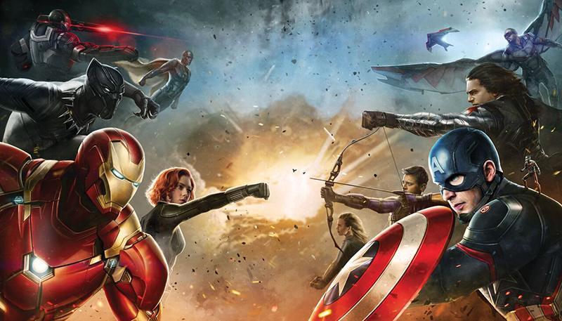 Mejores películas de acción del 2016 - Capitán América. Civil War