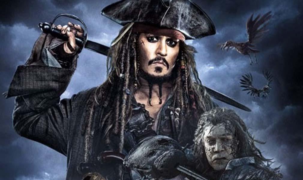 Piratas del Caribe 5. Posters de la película con Jack Sparrow y los nuevos héroes