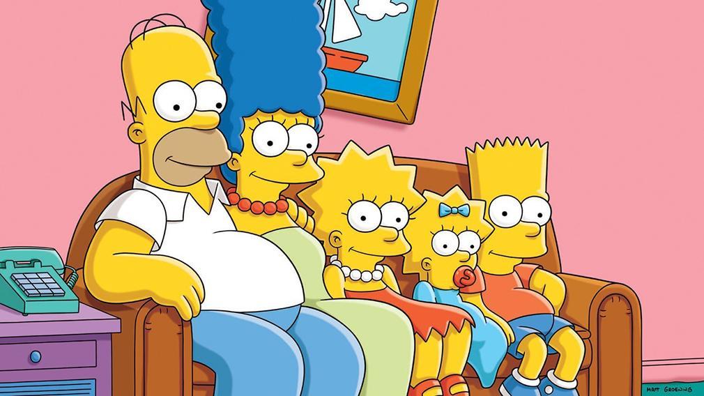 Series más vistas en América - Los Simpson