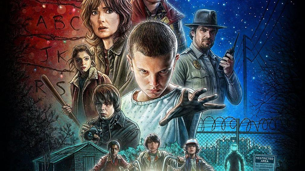 Series más vistas en América - Stranger Things