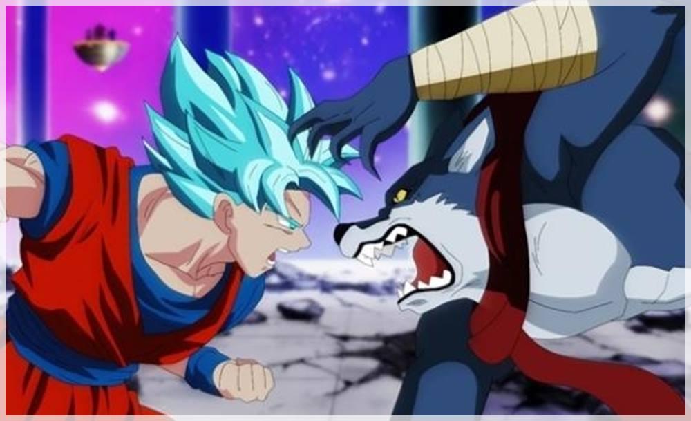 Dragon Ball Super, Goku contra Bergamo