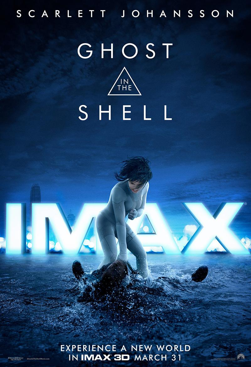 'Ghost in the Shell' nuevo clip y póster IMAX - Póster