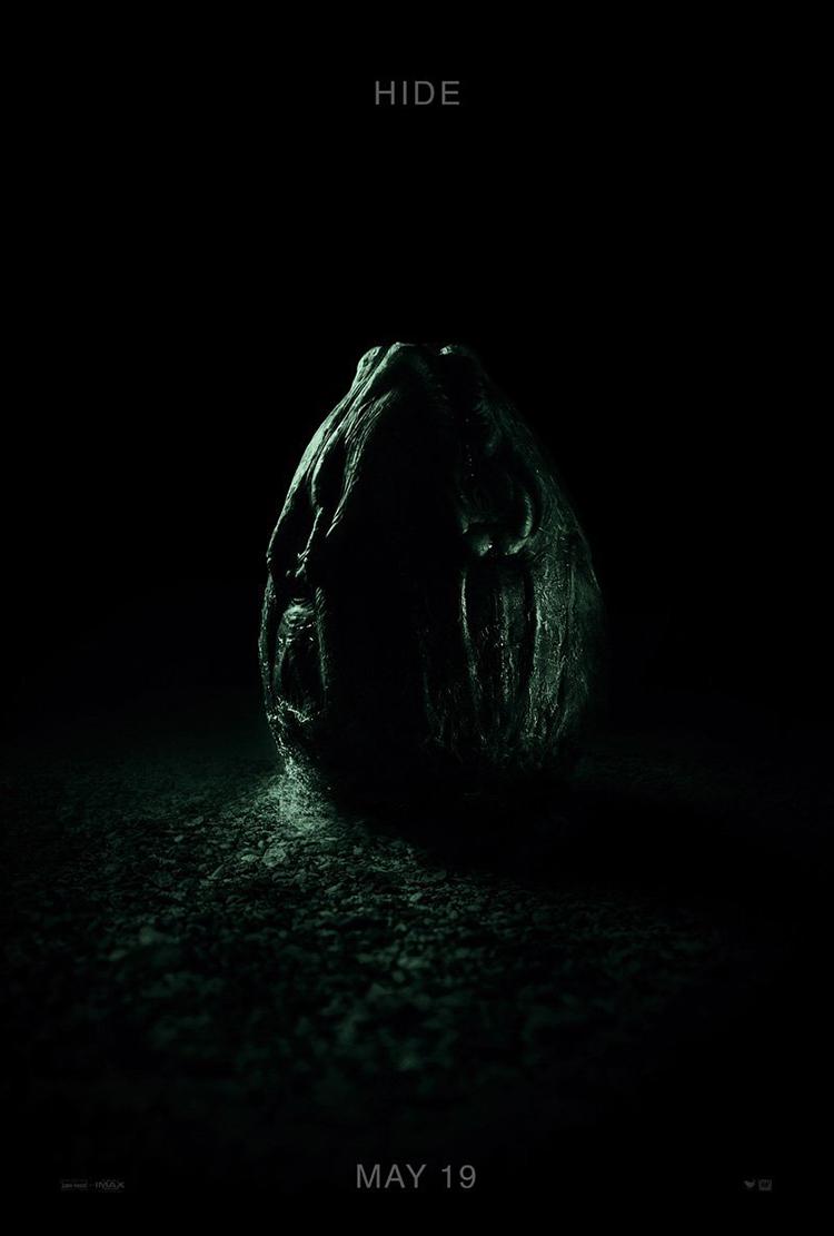 Nuevo e impactante tráiler y póster de la película 'Alien Covenant' del director Ridley Scott