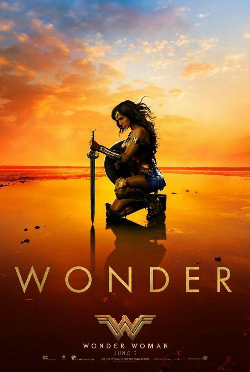 Nuevo póster de 'Wonder Woman' centrado en la figura de Diana Prince - Póster