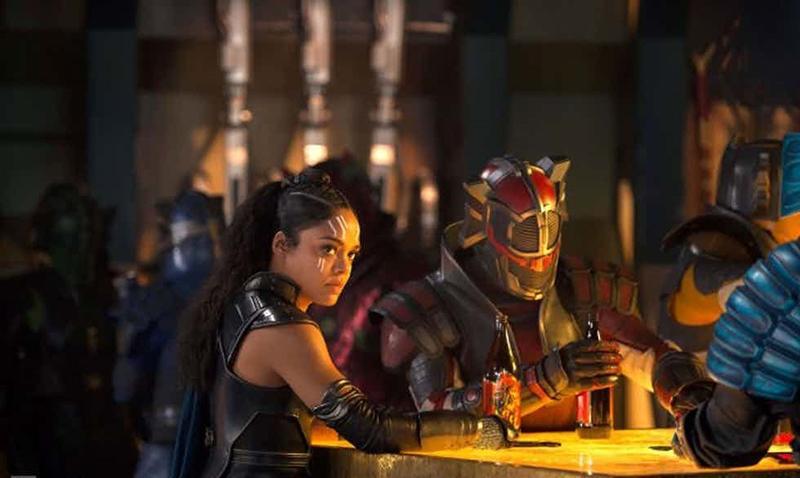 Primeras imágenes de 'Thor 3. Ragnarok' con la presencia de Grandmaster - Tess Thompson como Valquiria