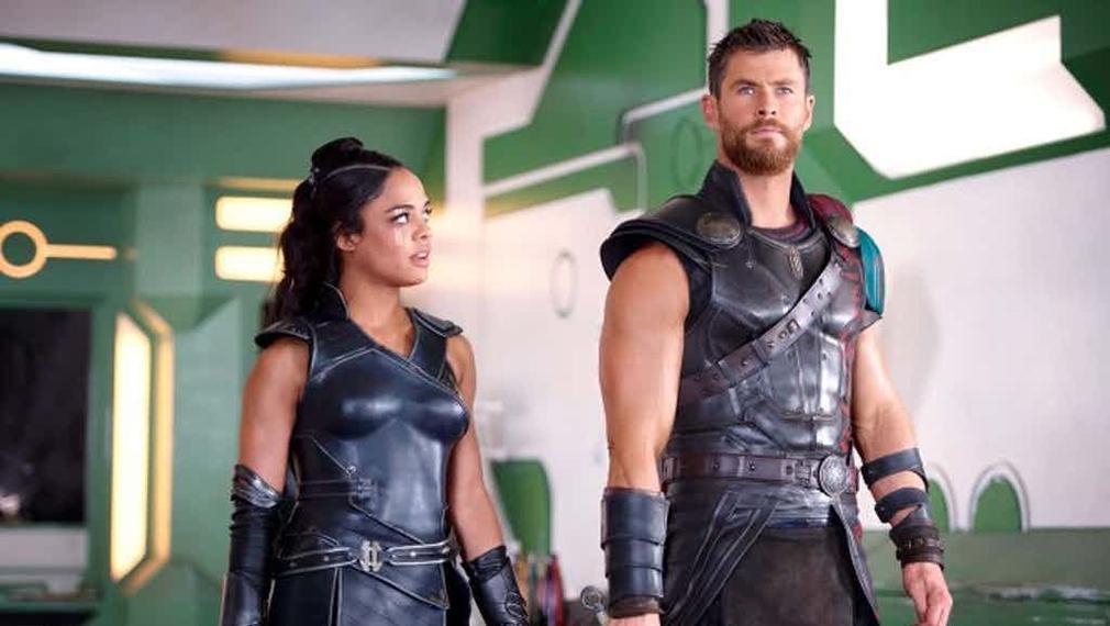 Primeras imágenes de 'Thor 3. Ragnarok' con la presencia de Grandmaster - Valquiria y Thor