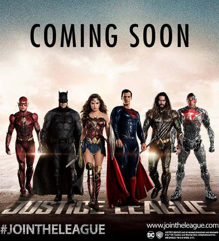 Primera Imagen De Superman Con La 'Liga De La Justicia