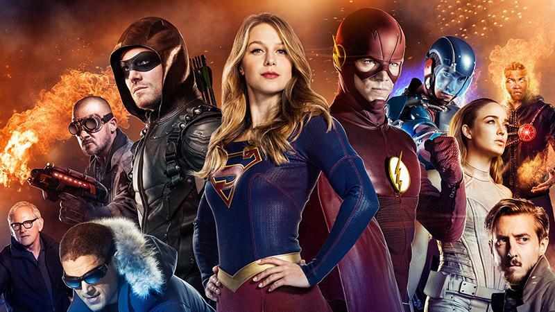 Series renovadas o canceladas en 2017 - The Flash, Arrow,Leyendas del mañana, Supergirl
