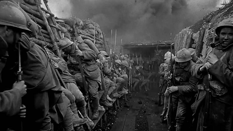 Películas de guerra