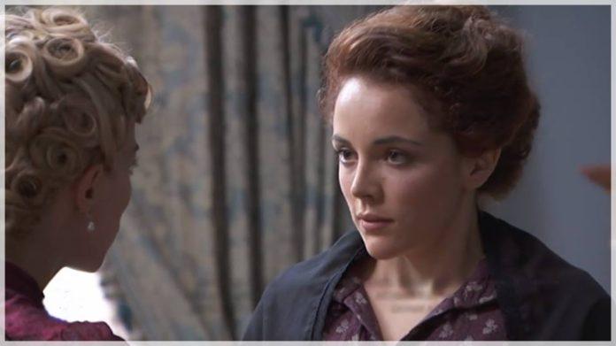 Sara tiende una trampa a Cayetana en acacias 38