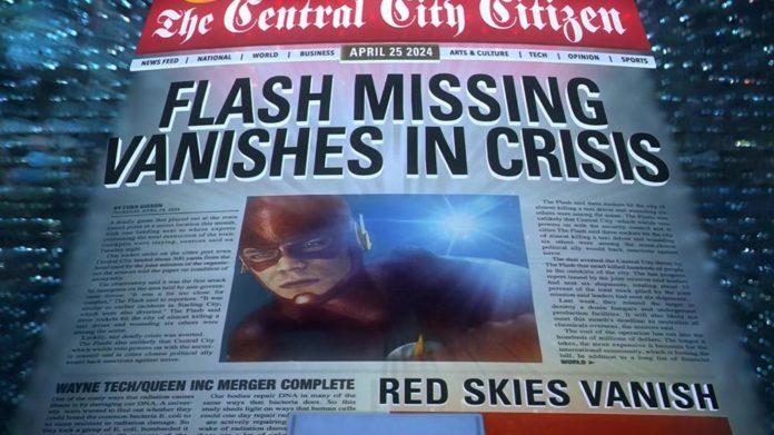 La trama de 'Crisis en Tierras Infinitas' es un objetivo para la serie 'The Flash'