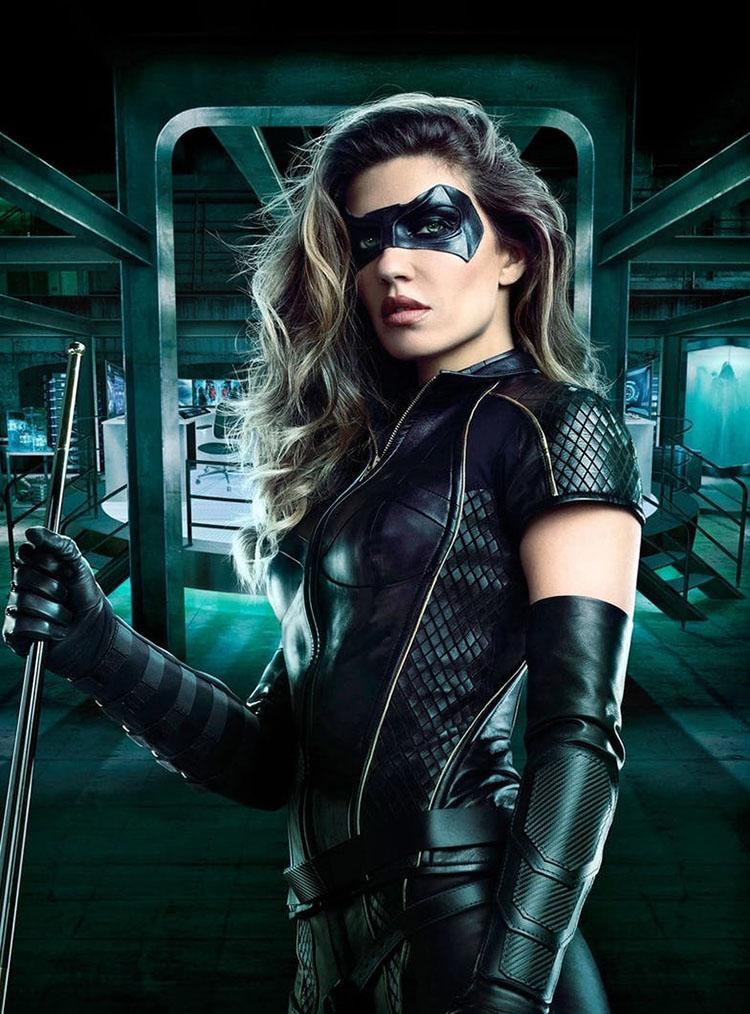 Canario Negro para la temporada 6 de Arrow - Poster