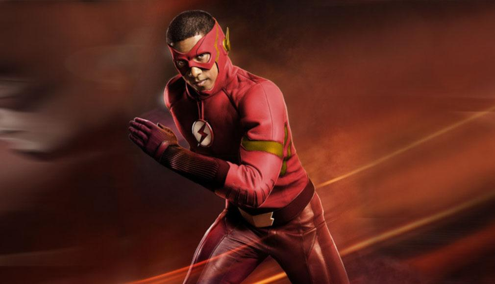 Wally West como Flash en las primeras imágenes de la temporada 4 de 'The Flash'