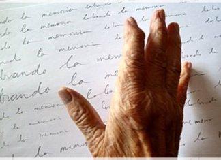 carta de una abuela en una residencia