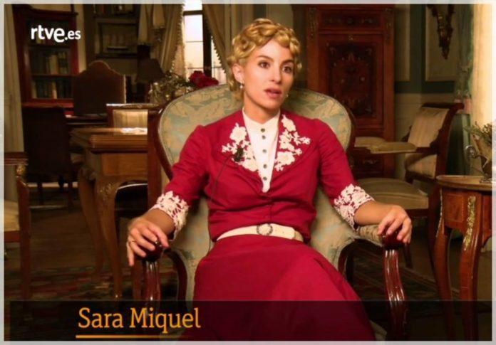 Sara Miquel, Cayetana en Acacias 38 habla en este vídeo de la despedida de la serie