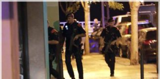 agentes durante el tiroteo en cambrils