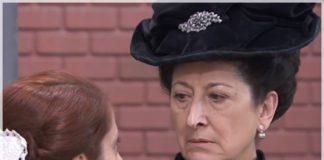 úrsula revela que blanca es su hija ante los vecinos en acacias 38