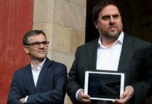 Detienen al número dos de Junqueras tras los registros de la Guardia Civil en la Generalitat