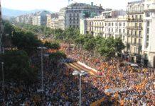 Los secesionistas quieren impulsar el referéndum de independencia en la Diada de Cataluña