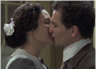 Maria Luisa ve a Antoñito besando a Lolita en Acacias 38
