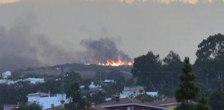 Primera víctima del incendio en la cumbre de Gran Canaria
