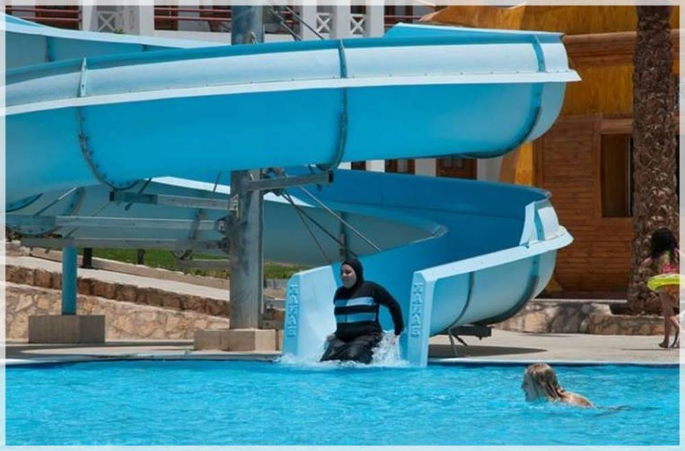 Prohiben el baño por llevar burkini en gaLICIA