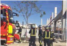 fallece un obrero en madrid tras caerle encima una plancha de hormigón de 5 toneladas