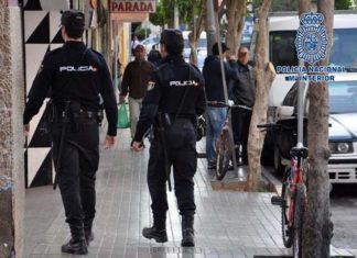 policia almería