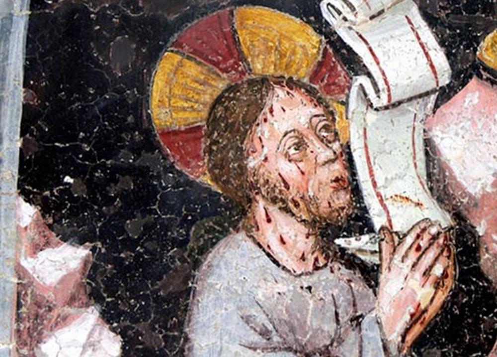 Cristo en el Monte de los Olivos de Wolfgang Sauber