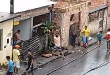 """Joven detenido por matar """"a golpes"""" a su padrastro en plena calle"""