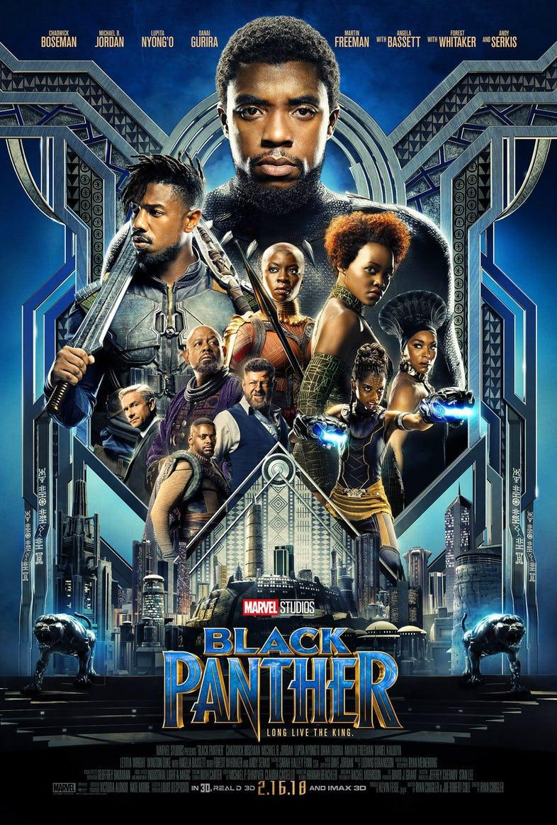 Nuevo tráiler y póster de la película 'Black Panther'