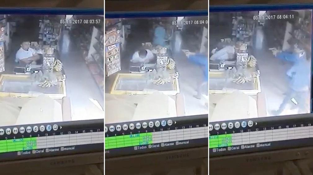 Asesinan a sangre fría a un comerciante pocos minutos después de abrir su negocio