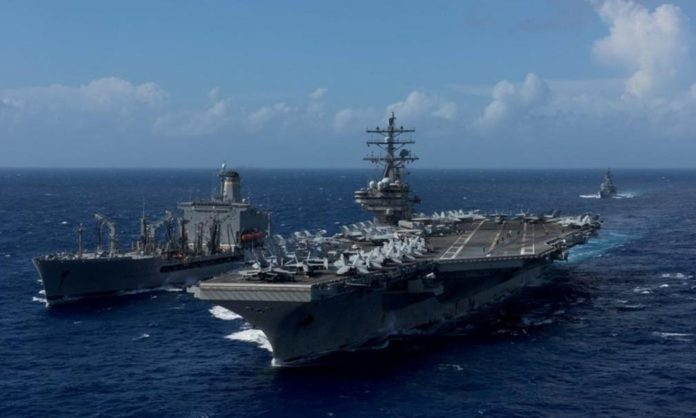 Avión de la marina estadounidense se estrella en el mar de Filipinas