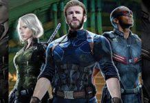 El nuevo aspecto de Capitán América, Falcon y Viuda Negra