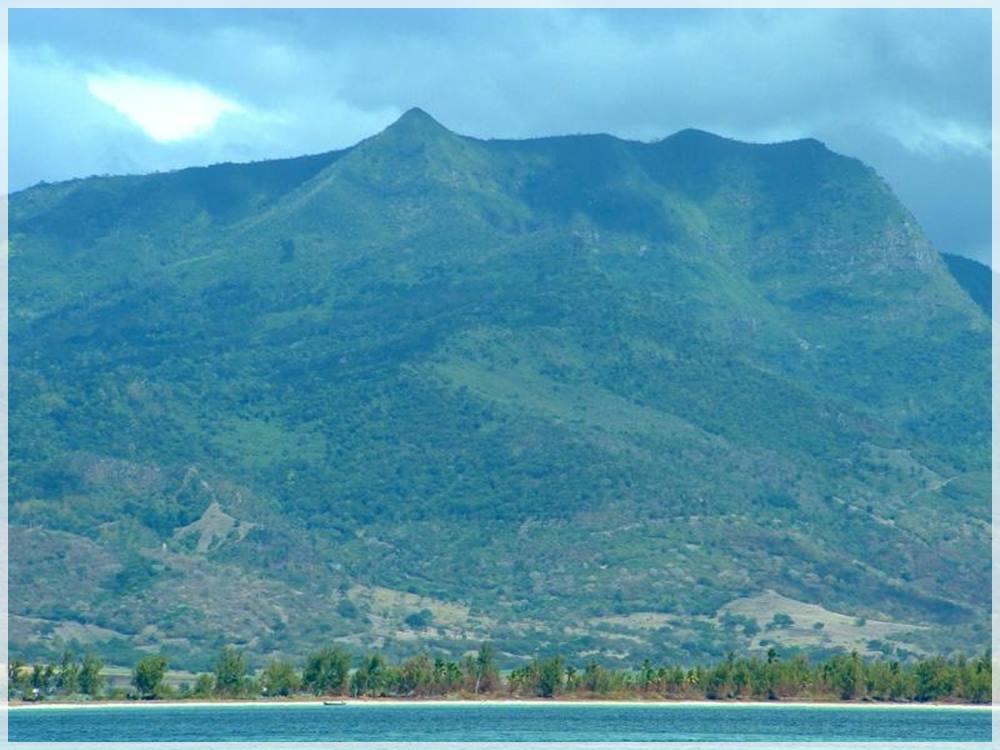 Piton-de-la-Riviere-Noire en las islas mauricio