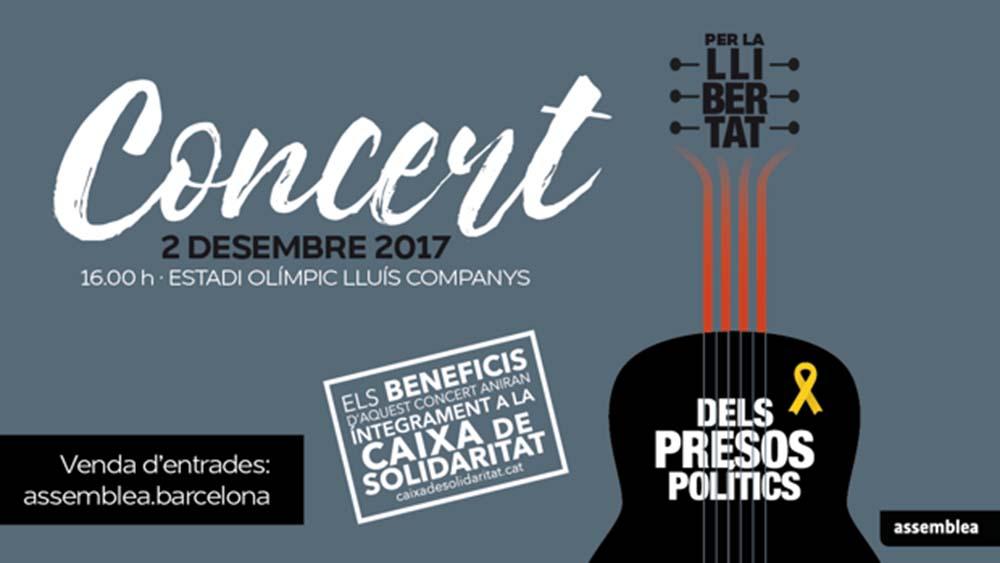 concierto por los presos políticos