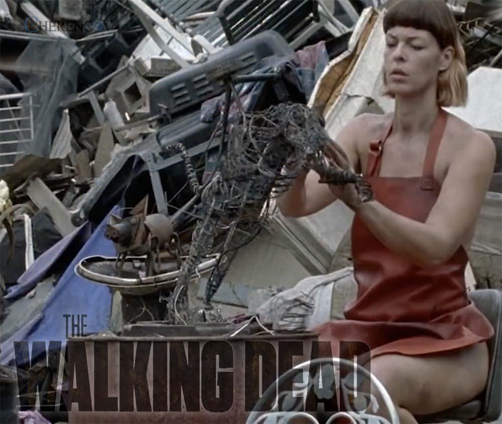 The Walking Dead 8x06 El Desnudo De Jadis Y La Misteriosa