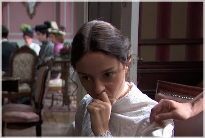 Úrsula convence a Olga para que seduz a Diego en acacias 38