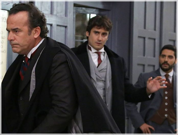 Arturo exige un duelo a Víctor tras saber que besó a su hija Elvira en Acacias 38