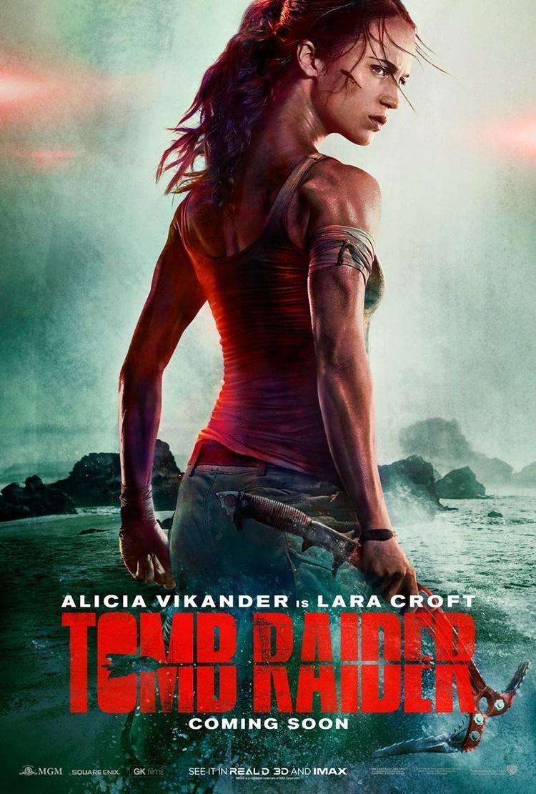 Primer póster de Alicia Vikander como Lara Croft en la nueva Tomb Raider