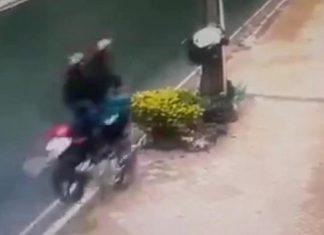 Guardia de seguridad se estrella contra una columna de cemento y muere en el acto