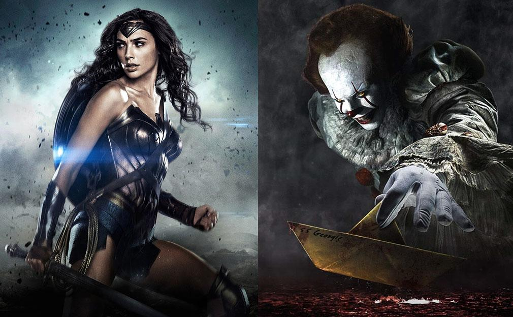 'It' y Wonder Woman' lideran el top 10 de las películas de IMDB del 2017