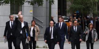 Libertad bajo fianza para 6 consellers, pero no para Junqueras, los Jordi y Forn