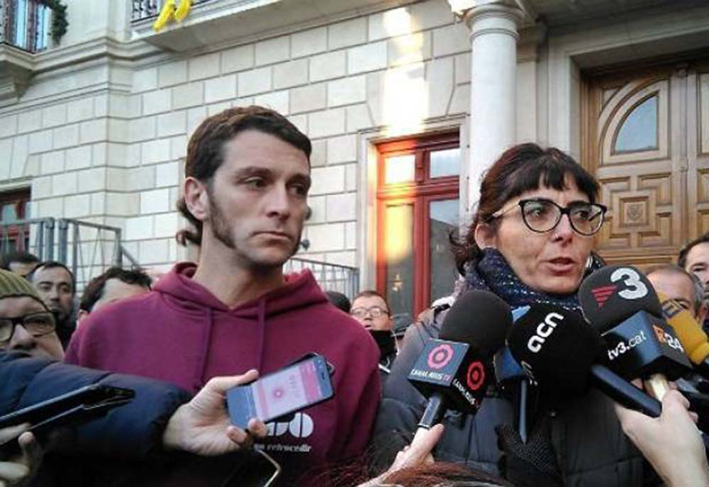Oriol Ciurana y Marta Llorens