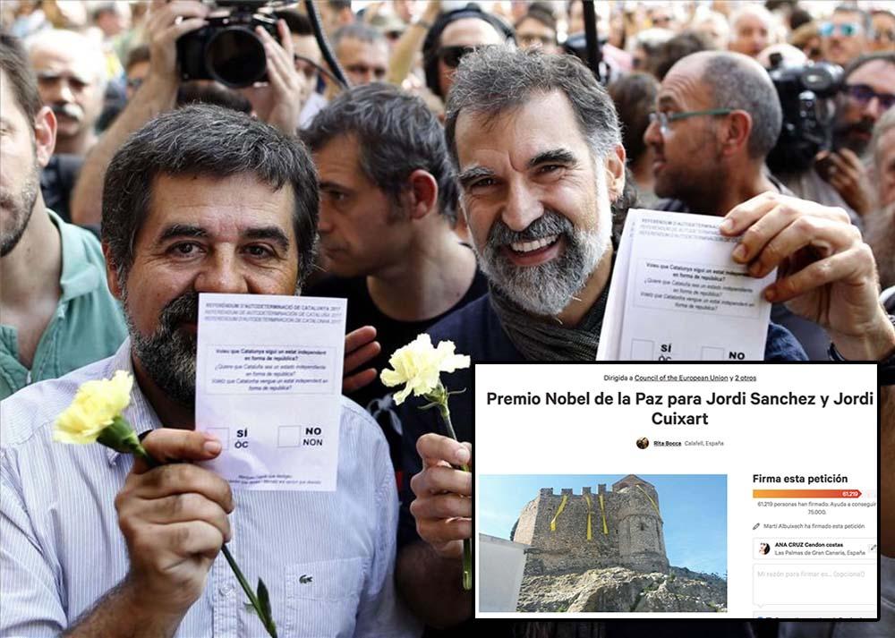 Premio Nobel Paz Jordis