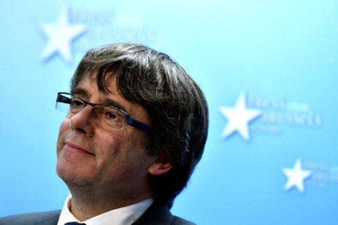 Retiran orden de detención europea contra ex presidente de Cataluña